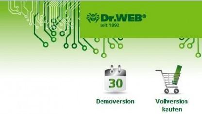 Website von Dr. Web