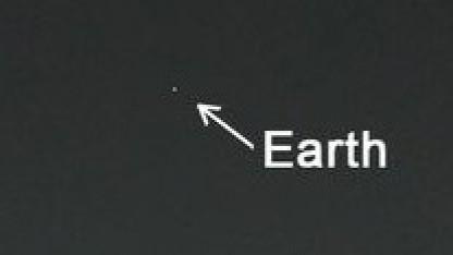 Marshimmel mit Erde: heller als jeder Stern