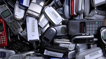 Mobiltelefon-Recycling in den USA
