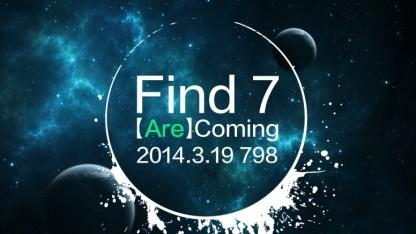 Das Oppo Find 7 wird im März 2014 vorgestellt.