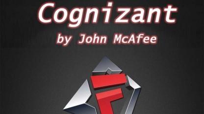 John McAfees Android-App Cognizant stellt Zugriffsrechte dar.