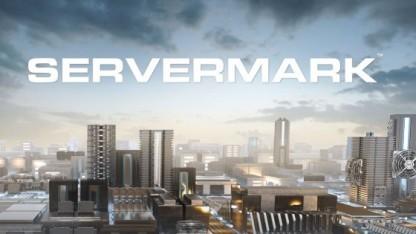 Das bisherige Logo für Servermark