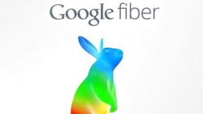 Logo von Google Fiber