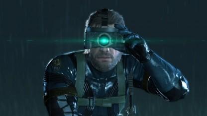 Scharf sieht Solid Snake nur auf der Playstation 4 aus.