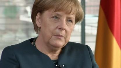 Merkel in ihrer Videoansprache