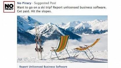 Urlaubsreisen als Belohnung für Informationen über illegale Softwareinstallationen in Unternehmen