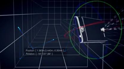 Das Tango-Smartphone kann in 3D sehen.