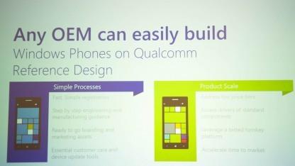 Für Hardwarehersteller soll die Produktion von Windows-Phone-Smartphones künftig leichter sein.