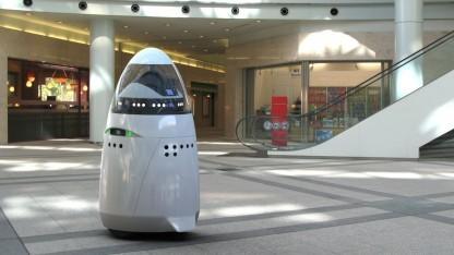 Knightscope K5: Roboter als Dienstleistung