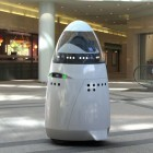 Roboter: Mietroboter Knightscope K5 passt auf