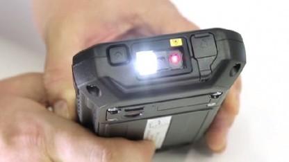 Der Barcode-Scanner des neuen 5-Zoll-Toughpads von Panasonic