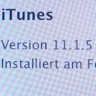 Apple: Update für iTunes 11.1.5 soll Abstürze verhindern