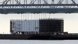 Google Barge in San Francisco (im Oktober 2013): Genehmigung unrechtmäßig erteilt