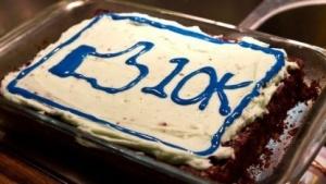 Lecker Facebook-Kuchen. Jefällt ma!