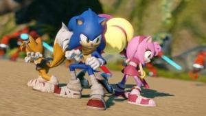 Sonic the Hedgehog bekommt Unterstützung von seinen Freunden.