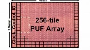 Das kleine Array bildet das PUF.