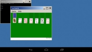 Windows-Solitär läuft schon unter Android.