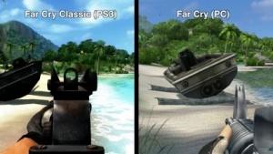Far Cry Classic für die PS3 und Far Cry für den PC im Vergleich