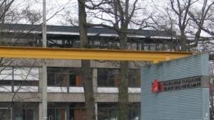 Der Eingangsbereich der Hochschule Karlsruhe für Technik und Wirtschaft