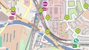 S-Bahnen und Busse können in Echtzeit auf der VBB-Livekarte verfolgt werden.