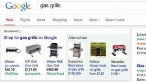 Google zeigt Screenshots seiner modifzierten Suche.