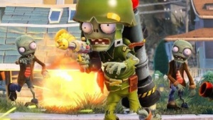Artwork von Plants vs. Zombies Garden Warfare
