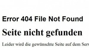 Error 404 statt Stoppschilder: Das Konzept funktioniert laut Bundesregierung.