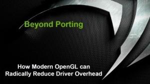 Präsentationen zu Direct3D und OpenGL auf der GDC 2014