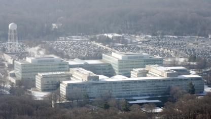 Im CIA-Hauptquartier in Langley sollen die Kongressmitarbeiter überwacht worden sein.