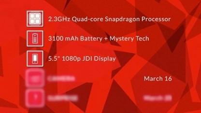 Oneplus nennt weitere Details zum One-Smartphone Ende der Woche.