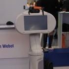 Wicron Webot: Roboter Webot ermöglicht virtuellen Cebit-Besuch