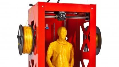 Big Builder: 3D-Drucker mit Doppelextruder