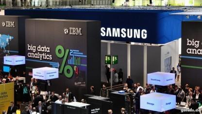 Selbst Samsung muss hinter IBM zurücktreten.