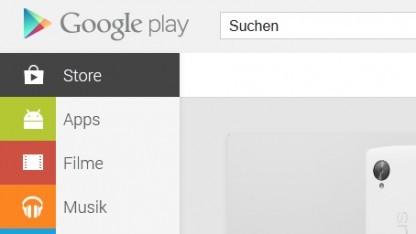 Neue Version der Play-Store-App für Android