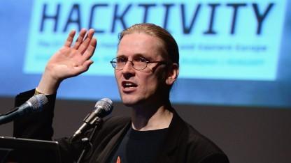 Mikko Hypponen auf der Konferenz Hacktivity im Oktober 2013