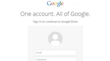 Gefälschte Google-Anmeldeseite