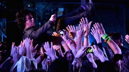 Billie Joe Armstrong von Foxboro Hot Tubs auf dem SXSW-Festival in Austin
