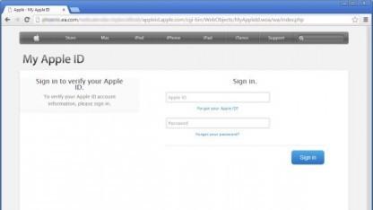Über eine gefälschte Webseite auf ea.com haben Angreifer versucht, Apple-IDs samt Passwörtern und Kreditkarteninformationen abzugreifen.