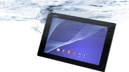Das Basismodell des Xperia Z2 Tablet kostet 500 Euro.