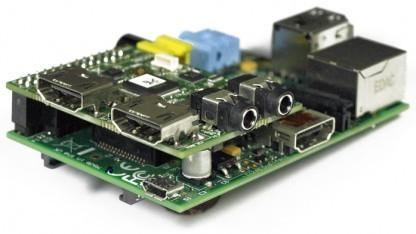 Das Deluxe-Modul mit HDMI-In und -Out sowie Audio