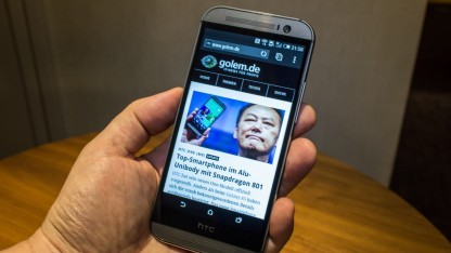 Das HTC One (M8) bekommt aktuell ein Update auf Android 5.0 Lollipop.