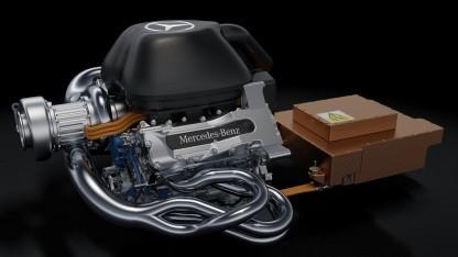 Mercedes-Hybridantriebsstrang: komplexester Antriebsstrang, der je im Motorsport gefahren ist
