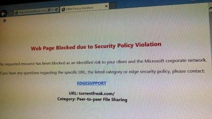Ein Bildschirmfoto aus dem Microsoft-Netzwerk