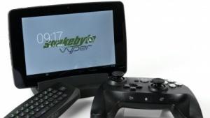 Das Snakebyte Vyper lädt durch das mitgelieferte Gamepad zum Spielen ein.