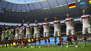 Deutsches Nationalteam in Fifa WM 2014 Brasilien