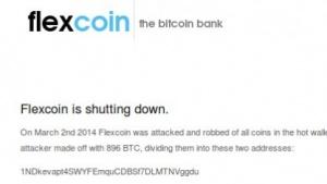 Weitere Bitcoin-Dienste sind gehackt worden, darunter die Bitcoin-Bank Flexcoin.
