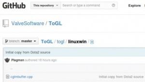 Valve hat den Quellcode der Zwischenschicht ToGL freigegeben.