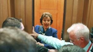 Großes Medieninteresse an US-Senatorin Feinstein nach ihrer Rede gegen die CIA