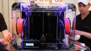 3D-Drucker Airwolf3D HD auf der Cebit 2014