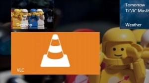 Eine erste Betaversion des VLC-Players steht für Microsofts Kacheloberfläche bereit.